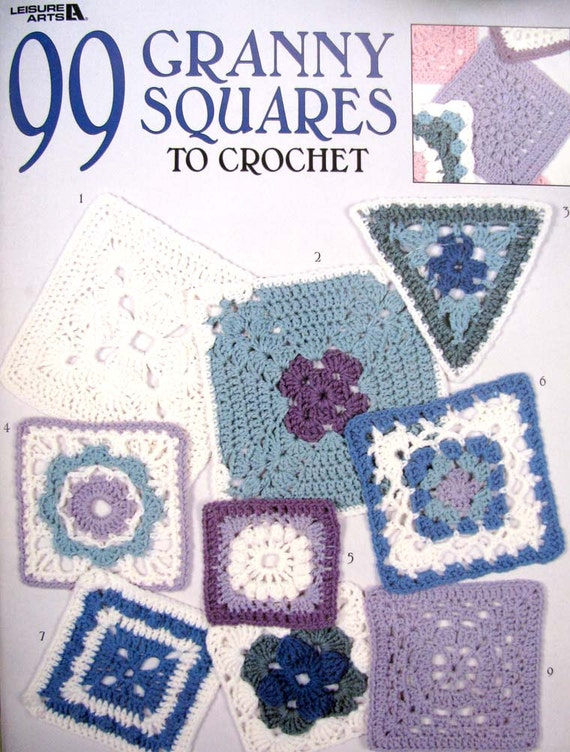 99 Granny Square Crochet Patterns