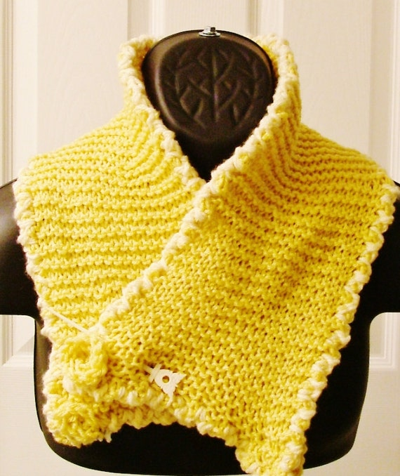 SALE  on this beautiful short scarf with pin