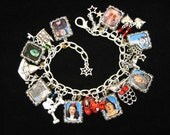 Hand Crafted Wizard Of Oz Charm Bracelet