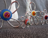 Wire Flowers set of 3