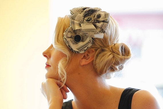 The FLORENCE - vintage style special occasion or everyday headpiece