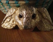 Extremely Cute One Of A Kind Vintage Retro Bunny Rabbit Belt Buckle Huge
