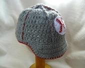crochet PATTERN - baseball hat, cap, baseball, brim hat, ball cap, PDF file