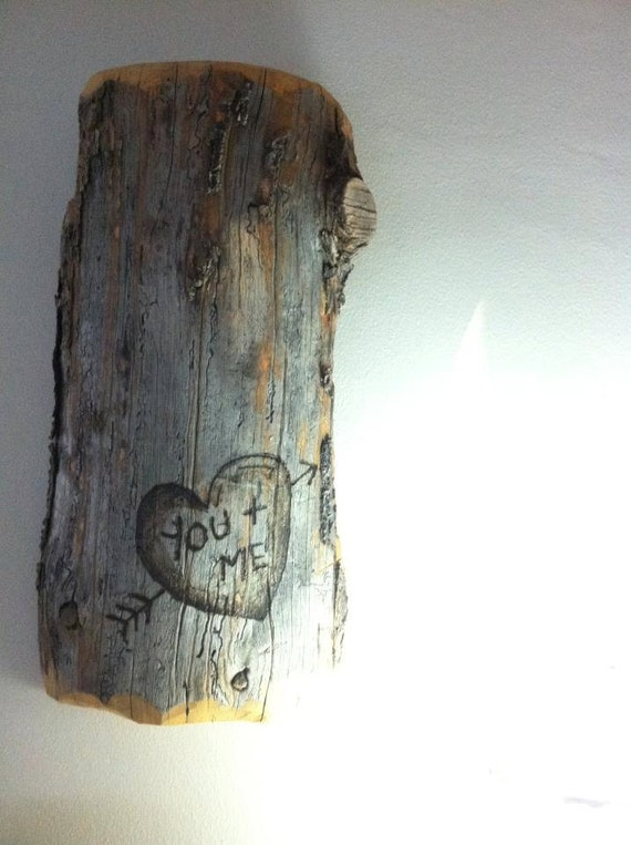 FOR NICOLE: Personalized Carved Initials on Pine - Wall Art