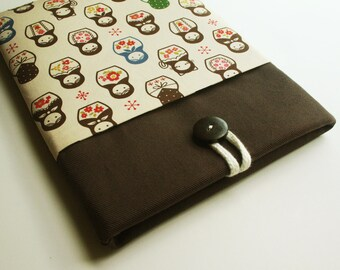 ipad case sleeve for - Ipad 4 , Ipad 3 ,Ipad 2  padded sleeve - Matryoshka Doll
