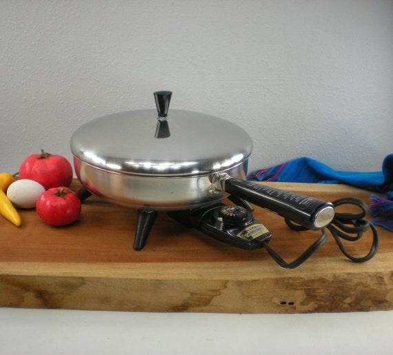 Small Farberware Electric Fry Pan Skillet 10 By Oldetymestore