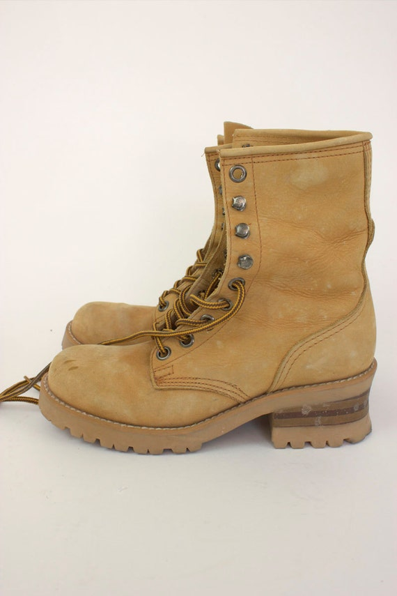 Model Vintage Colorado Steel Toe Hiking Boots Womens Size 7