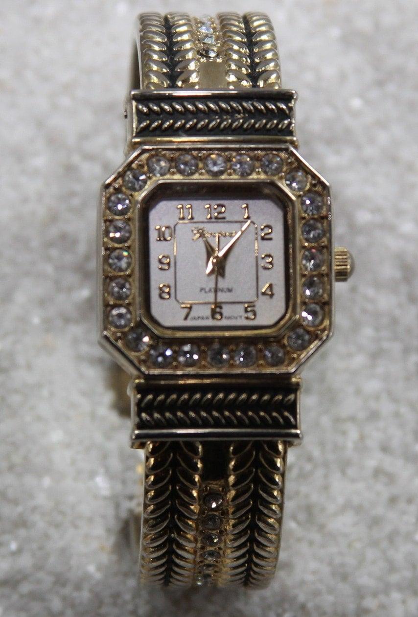 Vintage geneva wrist watch tm platinum 7136 japanese movement for Watches of japan