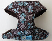 Comfort Soft Dog Harness, Blue Madison, Glitter. - Made to order -