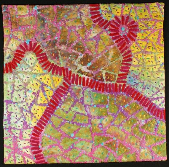 Handmade Art Quilt - Walkabout