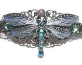 On Sale Dragonfly Crystal Barrette