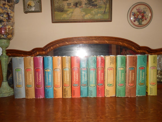 Childrens Companion Library  Huge set of 15 books / 30 stories FREE SHIP in USA