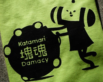 Katamari Damacy Inspired Screenprinted T-Shirt