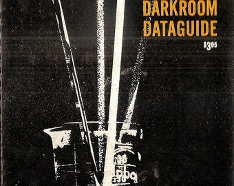 Kodak Master Darkroom Dataguide 1955-1966 edition spiral reference booklet  6 x 9 with 28 pages