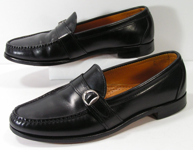 allen edmonds dress shoes mens 10 c black by