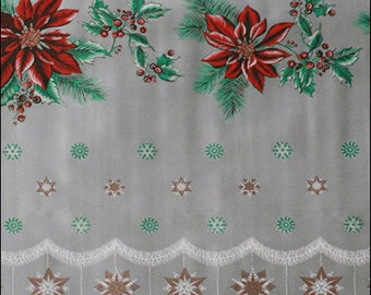 Christmas Oilcloth By The Yard
