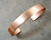 Copper Cuff Bracelet Blank Ready to Work