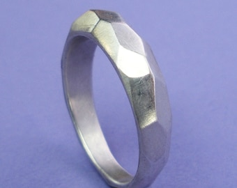 Silver Tapered Montana Ring