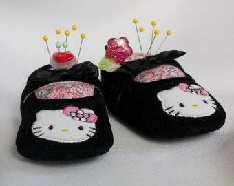 SALE  Hello Kitty Pincushions, Pair
