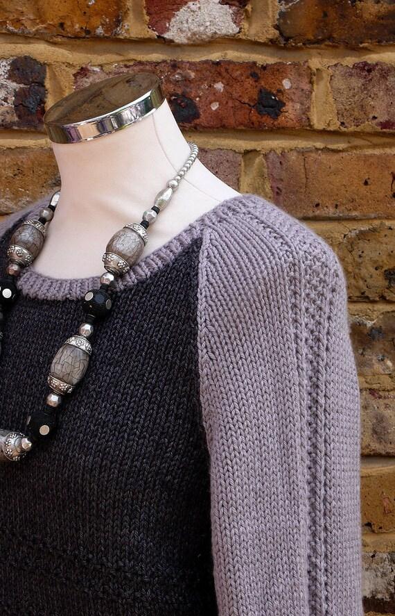 The Boyfriend sweater Knitting pattern by KnittedWonderland