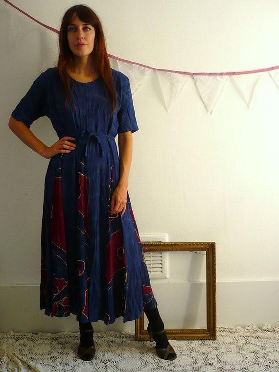 90's Hippy New Age Maxi Dress Size Medium