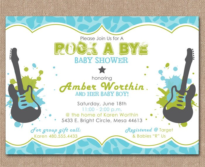 music themed baby shower invitations baby shower invitation baby