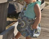 Baby Girl Romper PDF Pattern