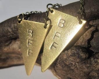 Best Friends Necklace BFF Jewelry BFF Necklace Friendship Necklace Best Friend Jewelry