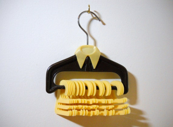 Vintage Tie Hanger Organizer Shape of a Dress Shirt
