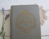 RESERVED///Antique Book: Marie Antoinette, Paris Apartment French Country Decor