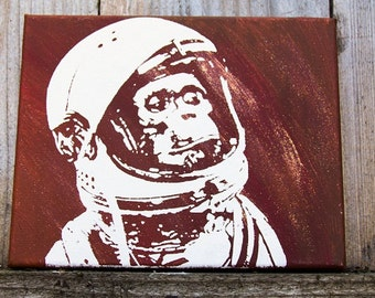 Space Monkey Painting