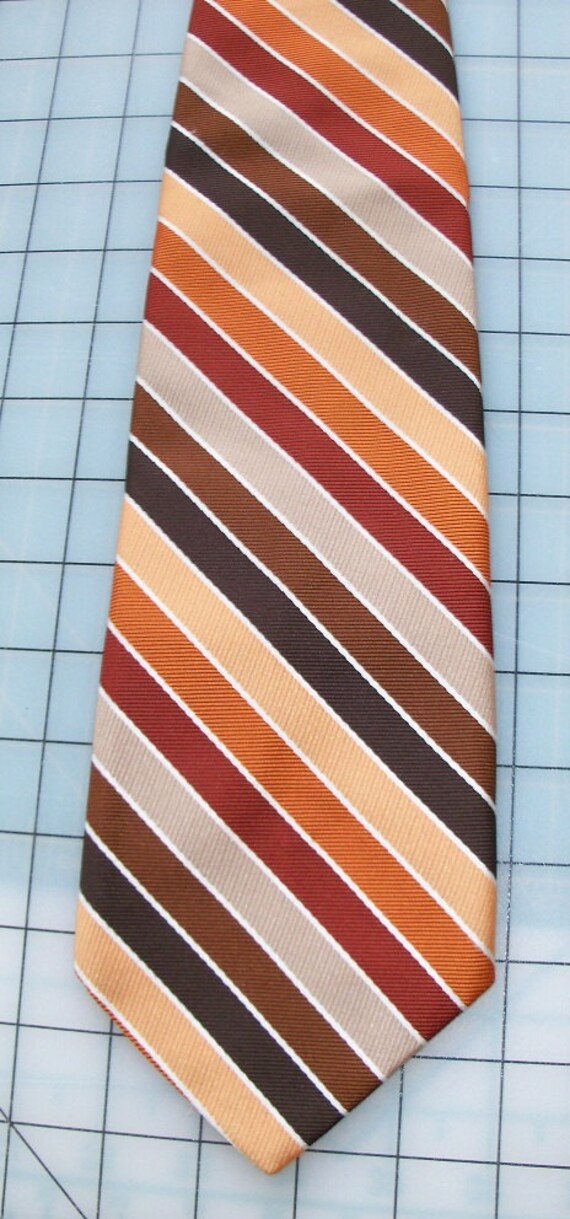 Vintage Qiana by Beau Brummell Nylon Necktie