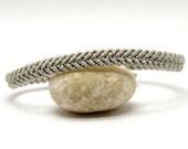 Silver Macrame Elven Friendship Bracelet