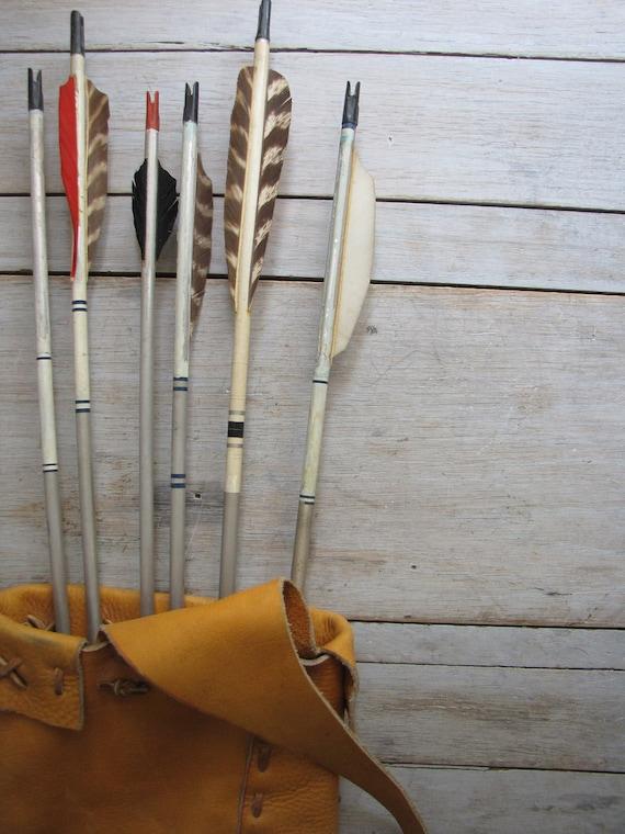 vintage archery arrow - reserved forpamela