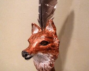 Fox animal totem shaman wand