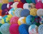 Cotton Face Scrubbies, Set of 20
