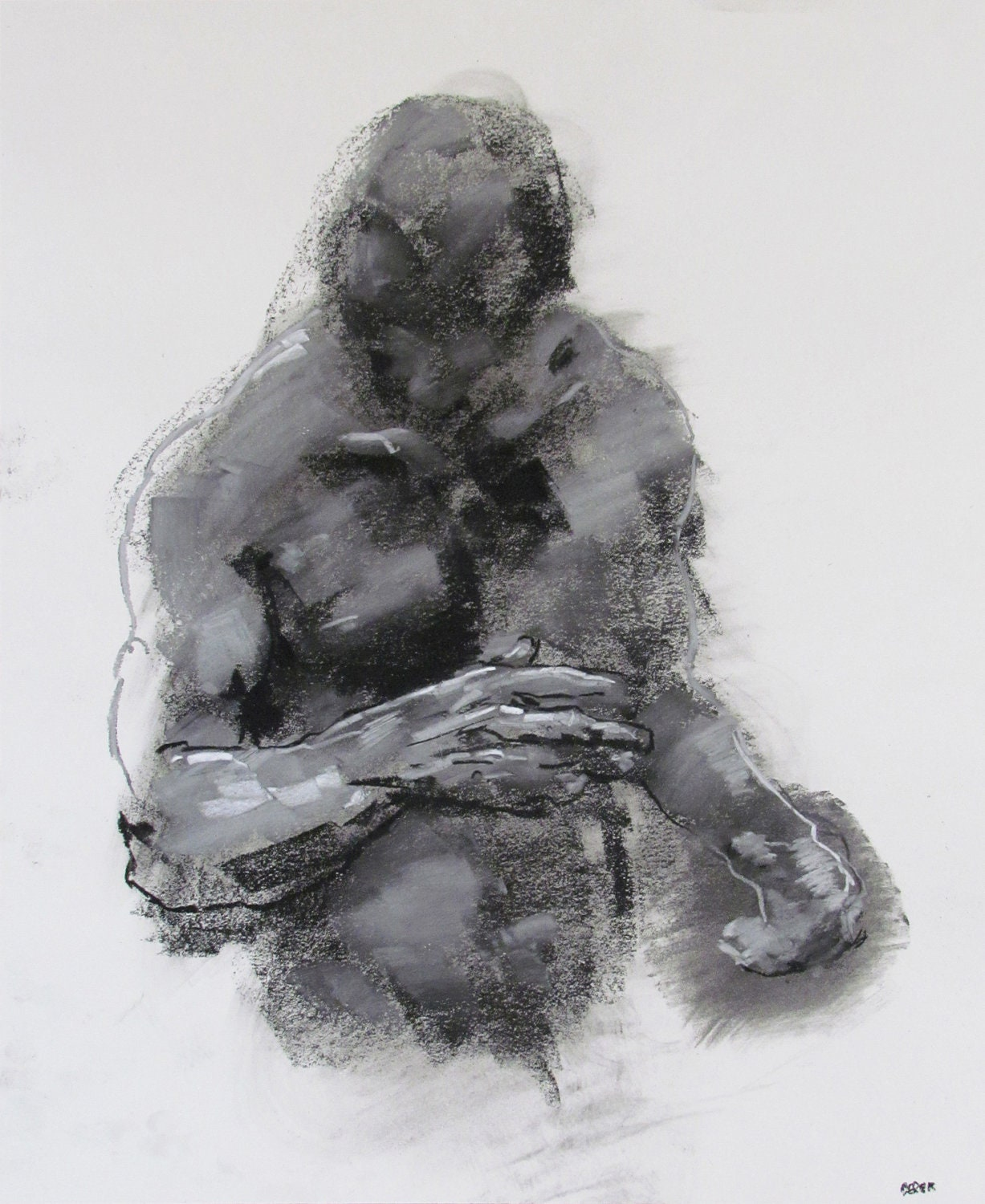 It is an image of Priceless Figure Drawing Male