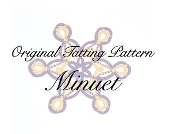 Minuet -  TATTING PATTERN