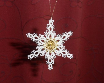 Flocon d'Or - Lace Ornament