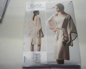 Pattern Ladies Dress by Bellville Sassoon Sz 16 to 24 Vogue 1330