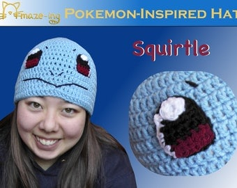 Amaze-ing Squirtle-Inspired Hat - Made to Order