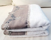 Turkish Towel 2 Handmade Cotton Hand Face Head TOWELS, Special Design In extra qualities additionally to our sensitiveness