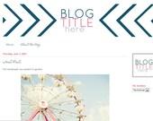 Custom Blog or Shop Header Design