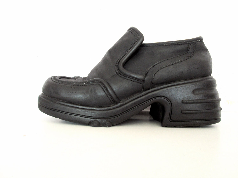 90 s platform shoes size 7 1 2 vegan by nightafternight on
