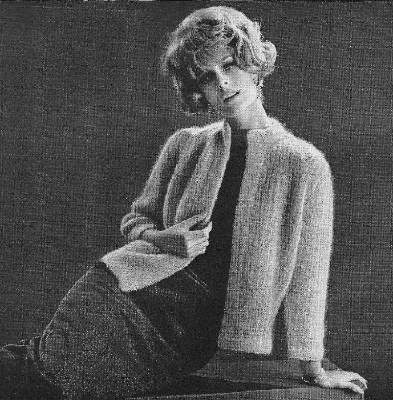 Sexy Knitting Patterns : Sexy Knit Mohair Sweater Pattern