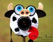 Lens Bling - Moo Cow
