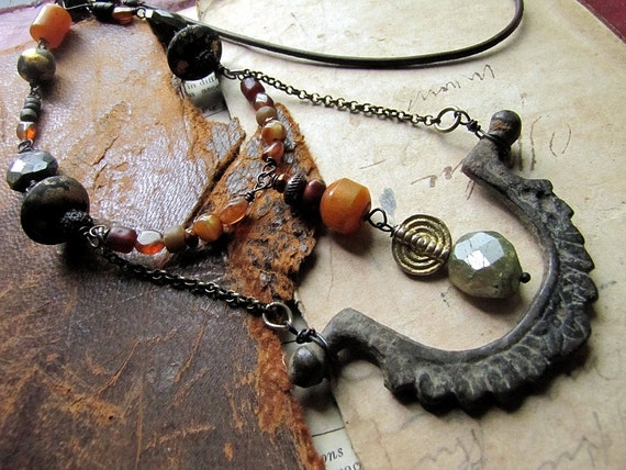 SALE apeiron - nomadic warrior necklace