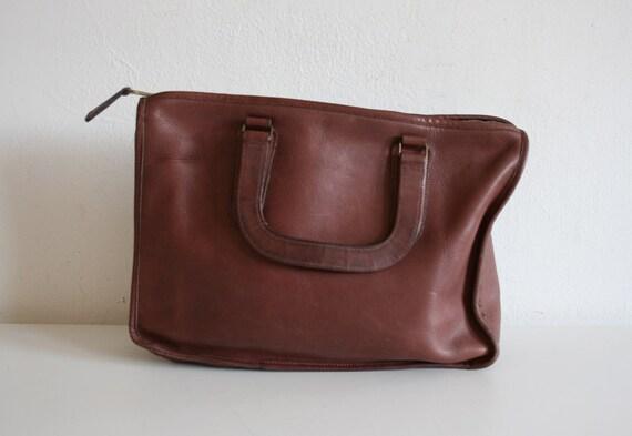 SALE Little Brown Briefcase