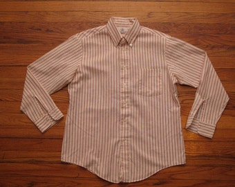mens vintage Ivy Classics stripe oxford shirt