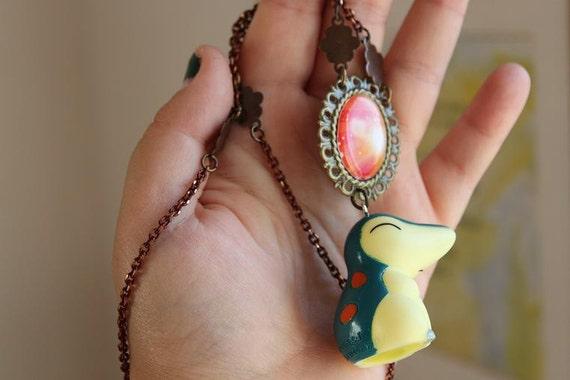 Pokémon Necklace - CYNDAQUIL Toy - Nintendo Nostalgia